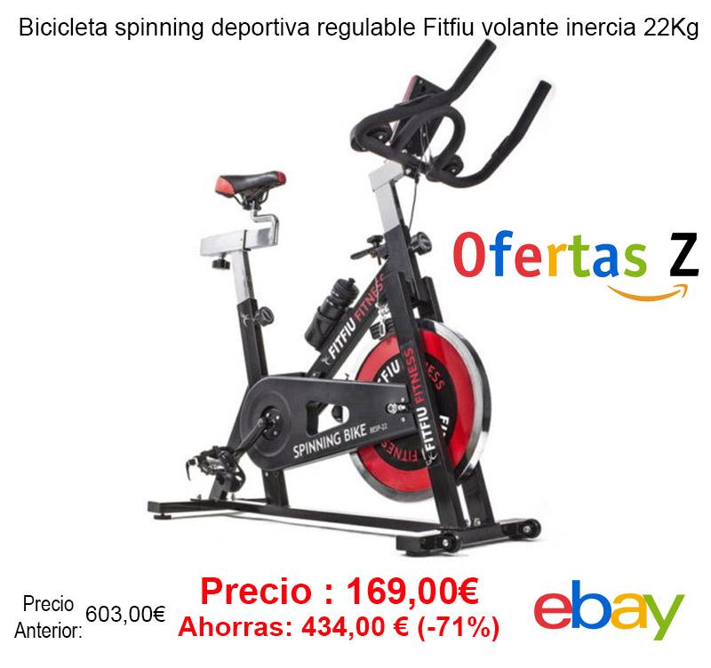 Oferta Bicicleta spinning