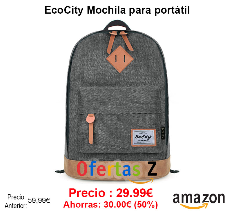 EcoCity Mochila para portátil