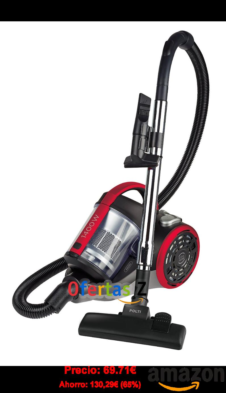 Polti Forzaspira C110 - Aspirador ciclónico sin bolsa potente de 1400W  Amazon.es  Hogar